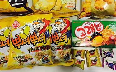 New Korean Snacks